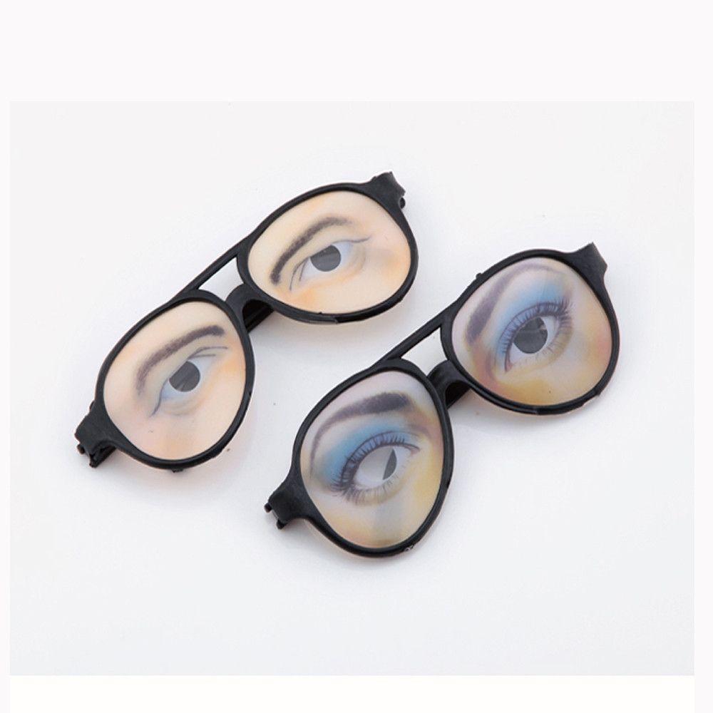 new HALLOWEEN Party Funny Glasses Fake Novelty Gag Prank Eye Ball ...