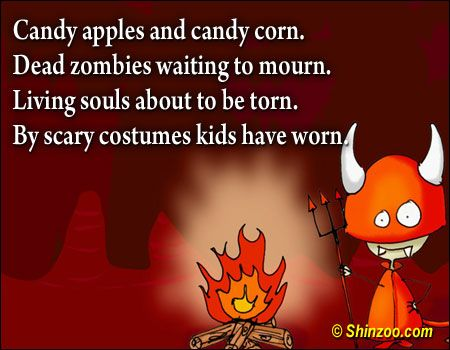 Halloween Quotes 013 -Candy apples and candy corn