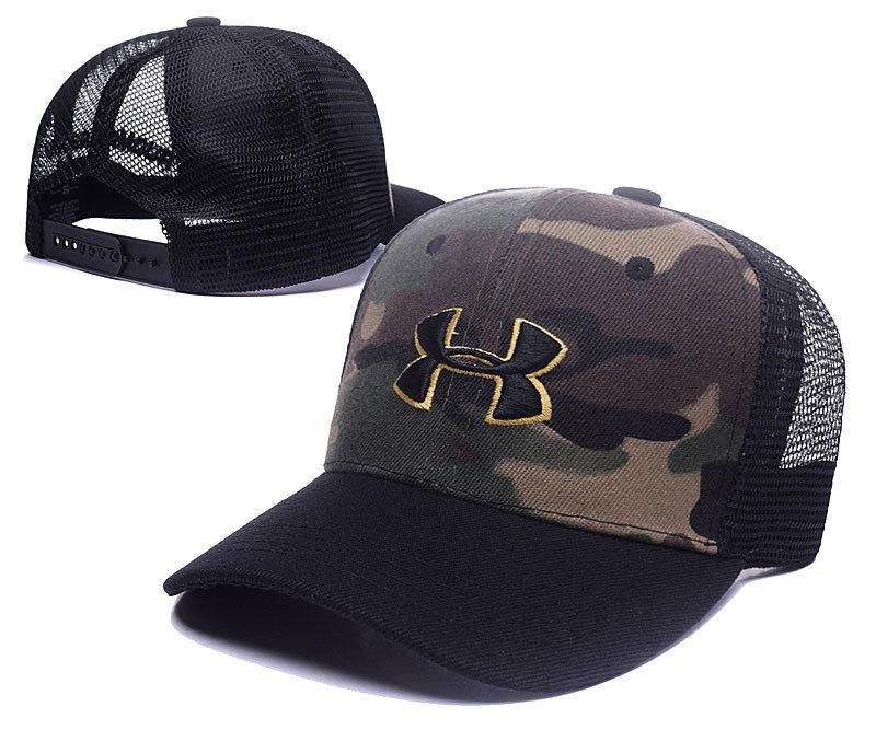 Men S Women S Unisex Under Armour The Bold Under Armour Logo Mesh Back Hockey Mesh Hat Hats Snapback Cap