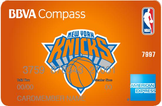 american express new york knicks bbva compass american express