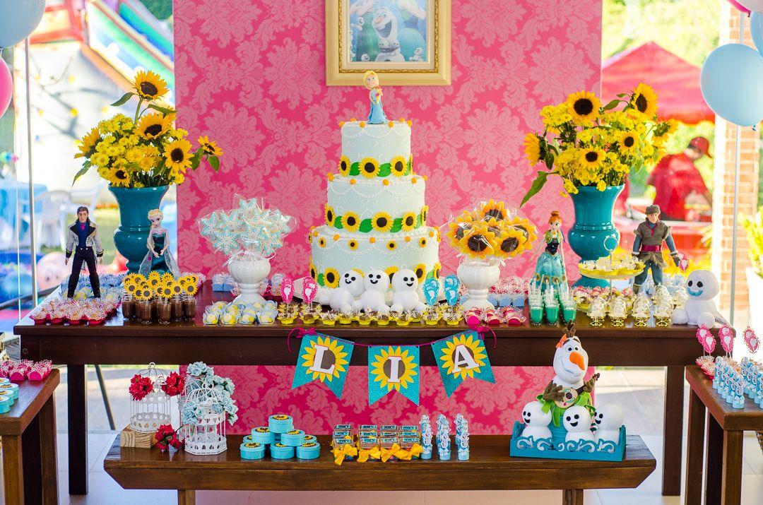 Aqui est a lindssima decorao da festa infantil da Lia cujo tema