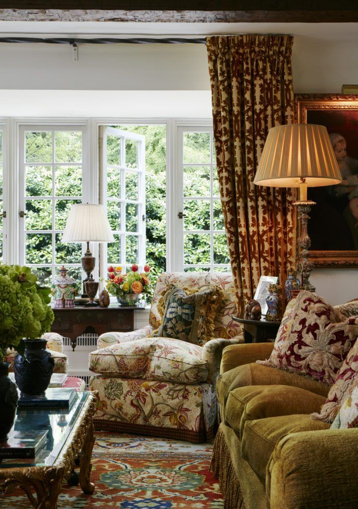 Old English Drawing Room: William Eubanks' English Country Cottage In Memphis