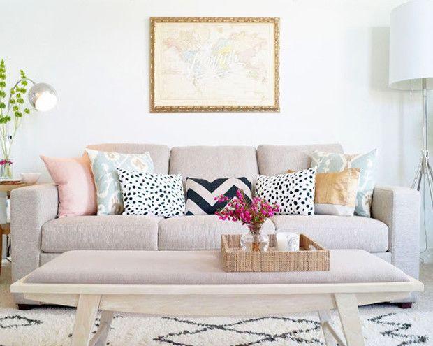 Flourish Map Home Decor Living Room Pillows Home Living Room