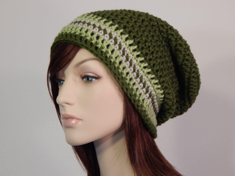 Green Slouch Hat 5400e85b51b