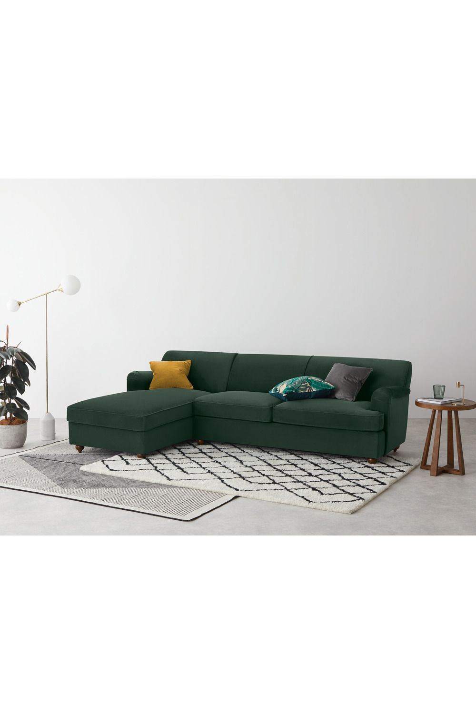 Made Eckschlafsofa Grun In 2020 Sofa Bett Ecksofa Sofa