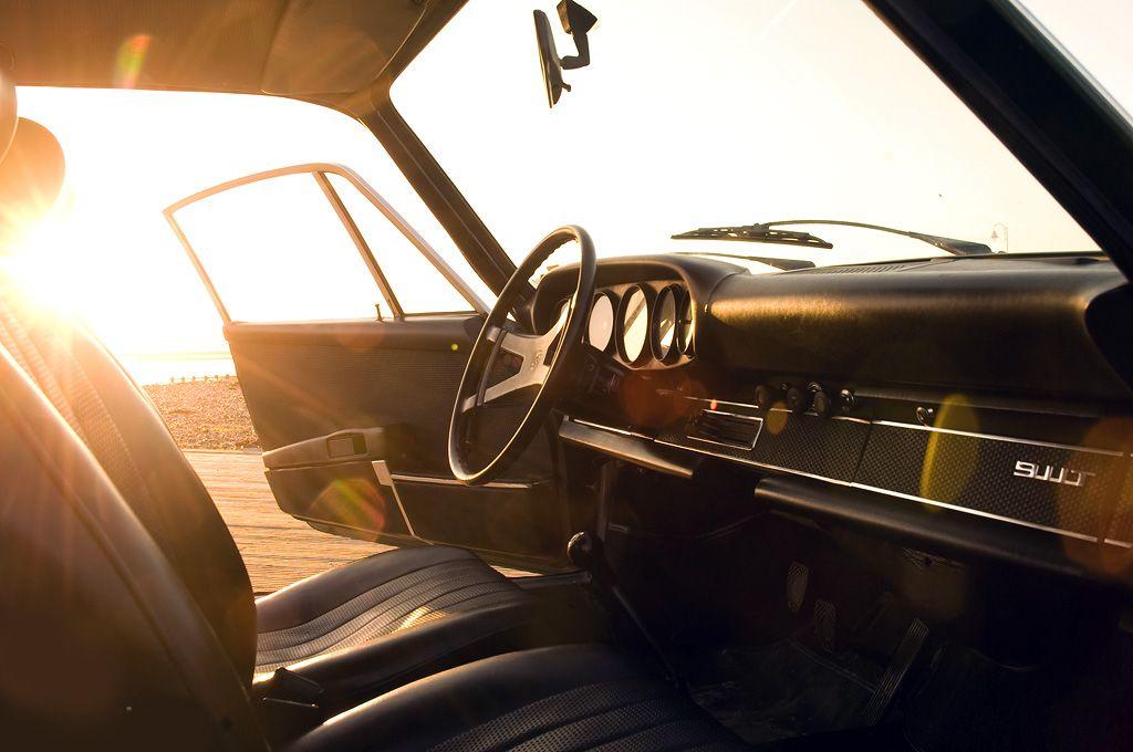 1970's 911 interior