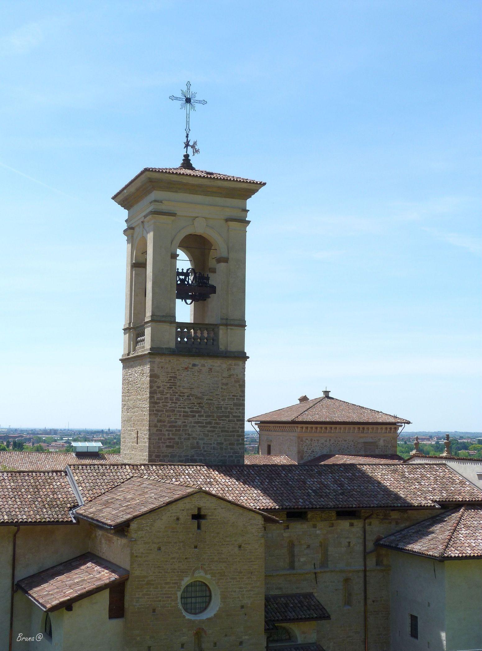 Bergamo (Italia) -  complesso di Astino