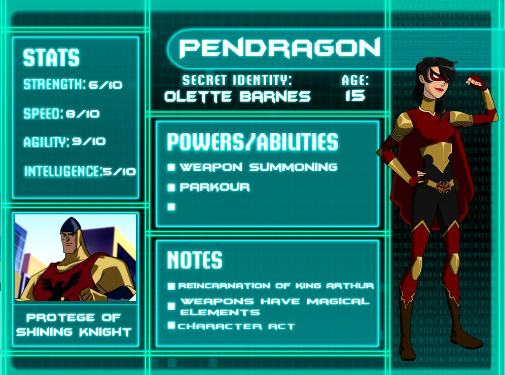Kara Kent and Don Allen from Young Justice Legacy Don wasYoung Justice Season 3 Character Bios