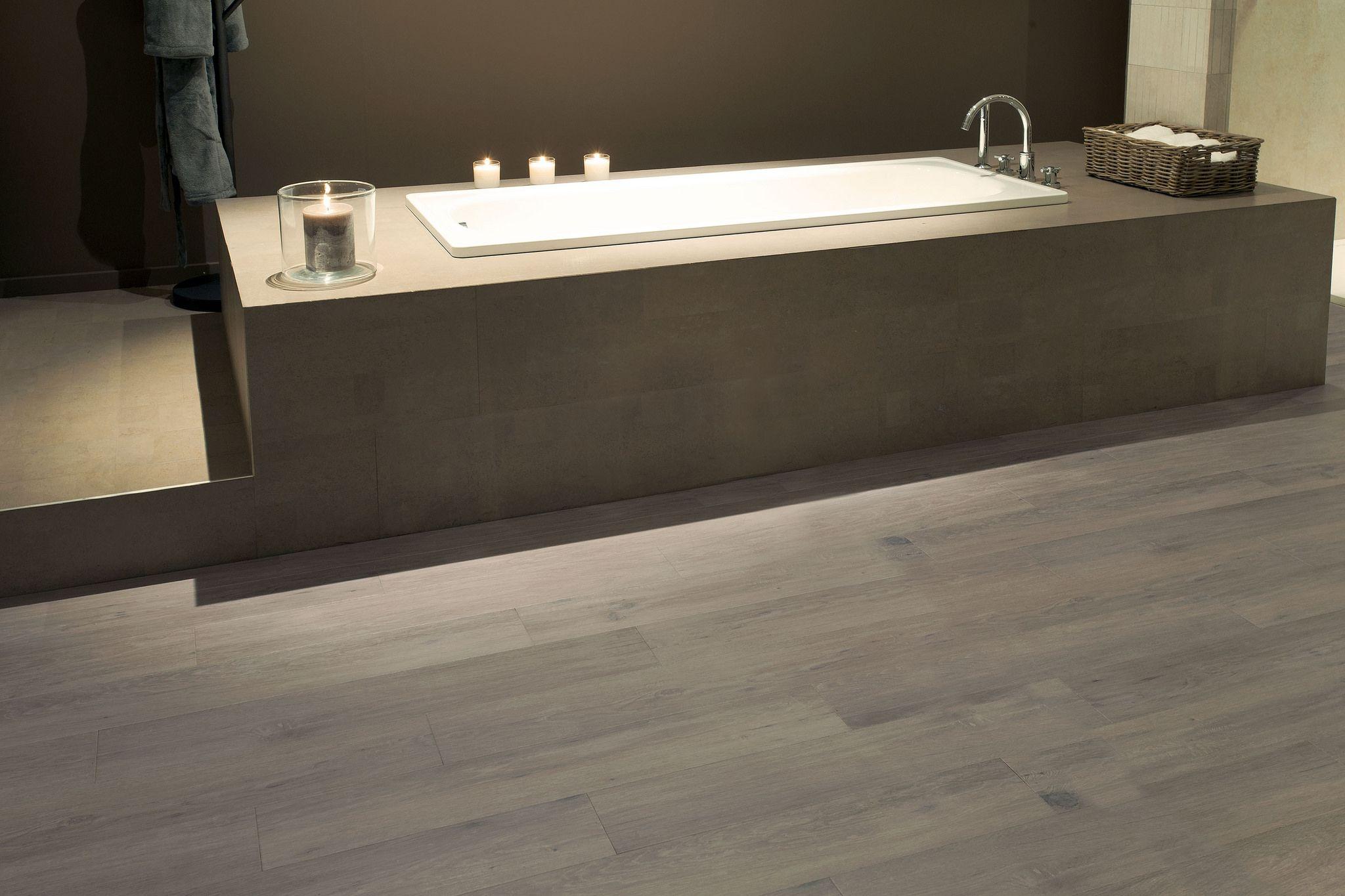 Kurkvloer houtlook badkamer in 2018 pinterest bathroom home