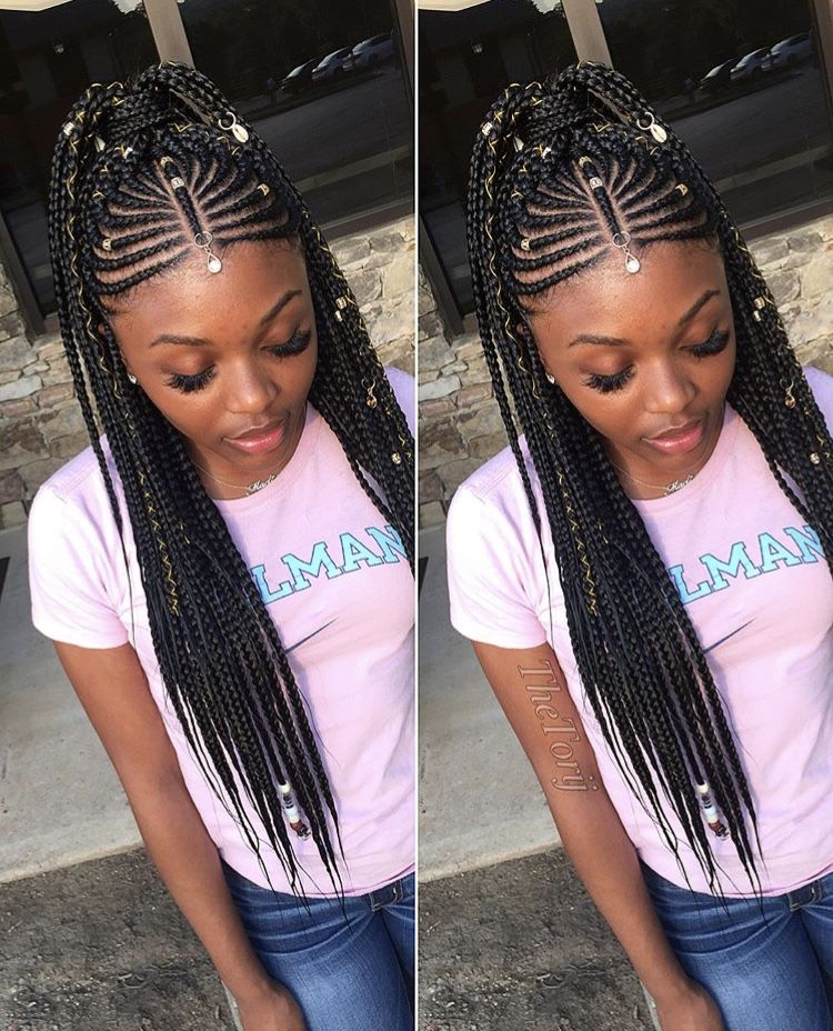 Hot Poetic Justice Braids Ideas In 2019 Braided Hairstyles