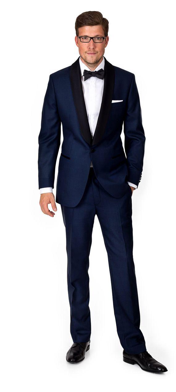 Midnight Blue Tuxedo … | Pinteres…