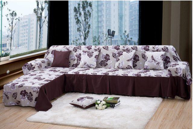 100 Algodao Conjunto De Sofa Sofa Capa Sofa Secional Sofa Cobertura De Pano Rustico Breve A Minha Loja Tem Uma Surp Luxury Chair Covers Sofa Set Luxury Sofa
