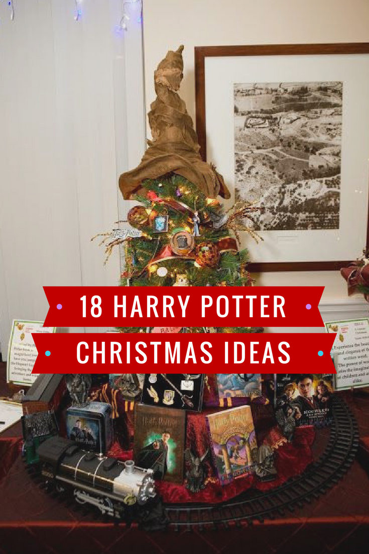 18 enchanting christmas decorations for harry potter fans
