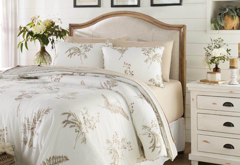 Hailey 3 Piece Reversible Comforter Set Luxury Bedding Sets Traditional Bedding Sets Farmhouse Bedding Sets