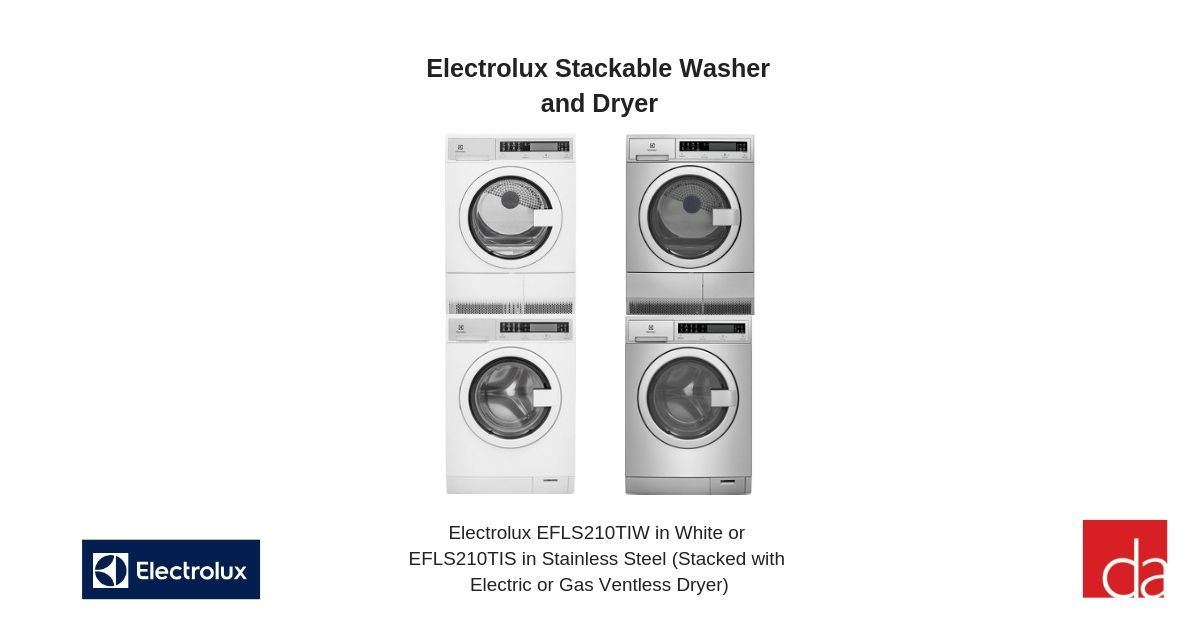 Best Stackable Washer And Dryer Sets Compact And Full Size