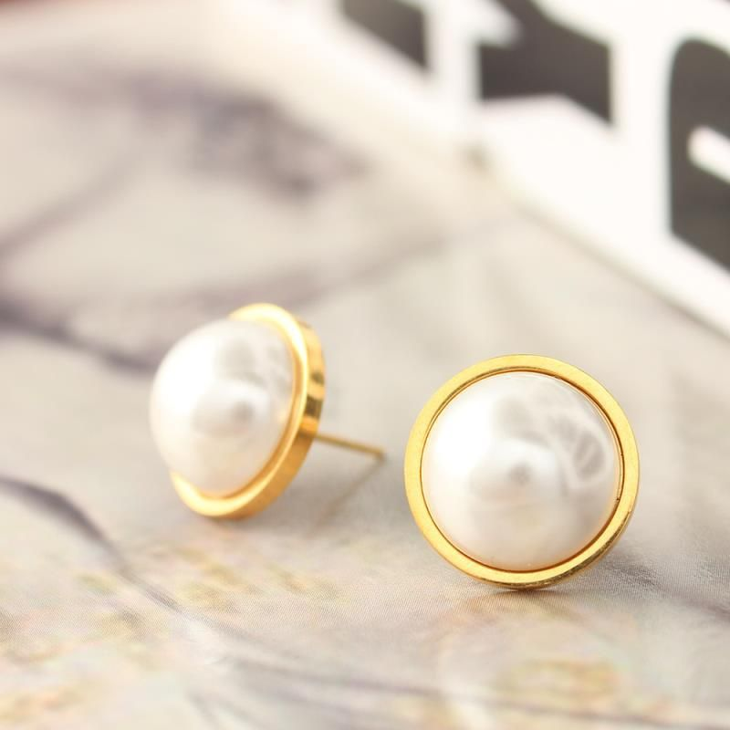 Xuanhua Whole Stainless Steel Pearl Earrings For Women Jewelry Gifts S Small Stud Fashion 2018 Jewellery Yesterday Price Us 2 99