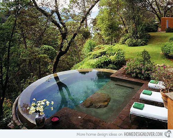 15 Pool Landscape Design Ideas   Pinterest   Architektur, Wohnen und ...