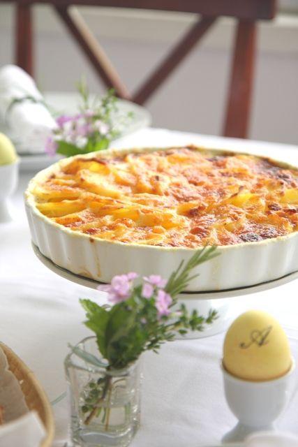 Potatoes Au Gratin (Pommes Dauphinoise)