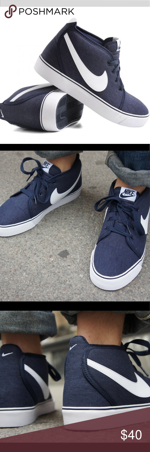 Men's Nike Toki Canvas Shoes