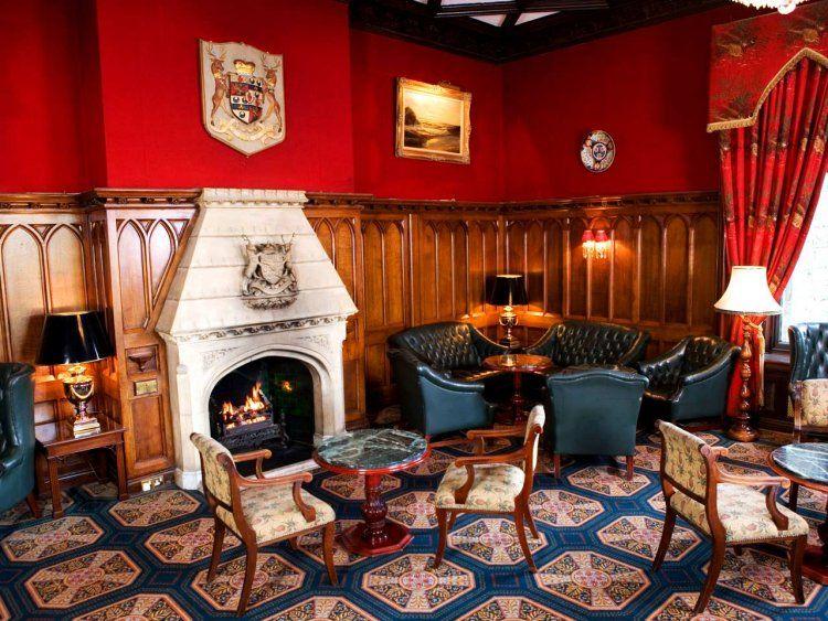Cocktail Bar - Ashford Castle Hotel, Dublin, Ireland