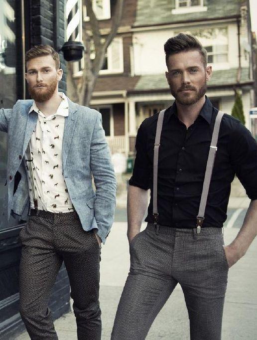 Suspender Splendour! Moda masculina, Moda hombre y Estilo masculino