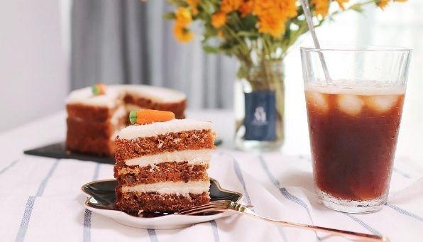 Le Carrot Cake Ou Gâteau Aux Carottes En Français Ou Encore