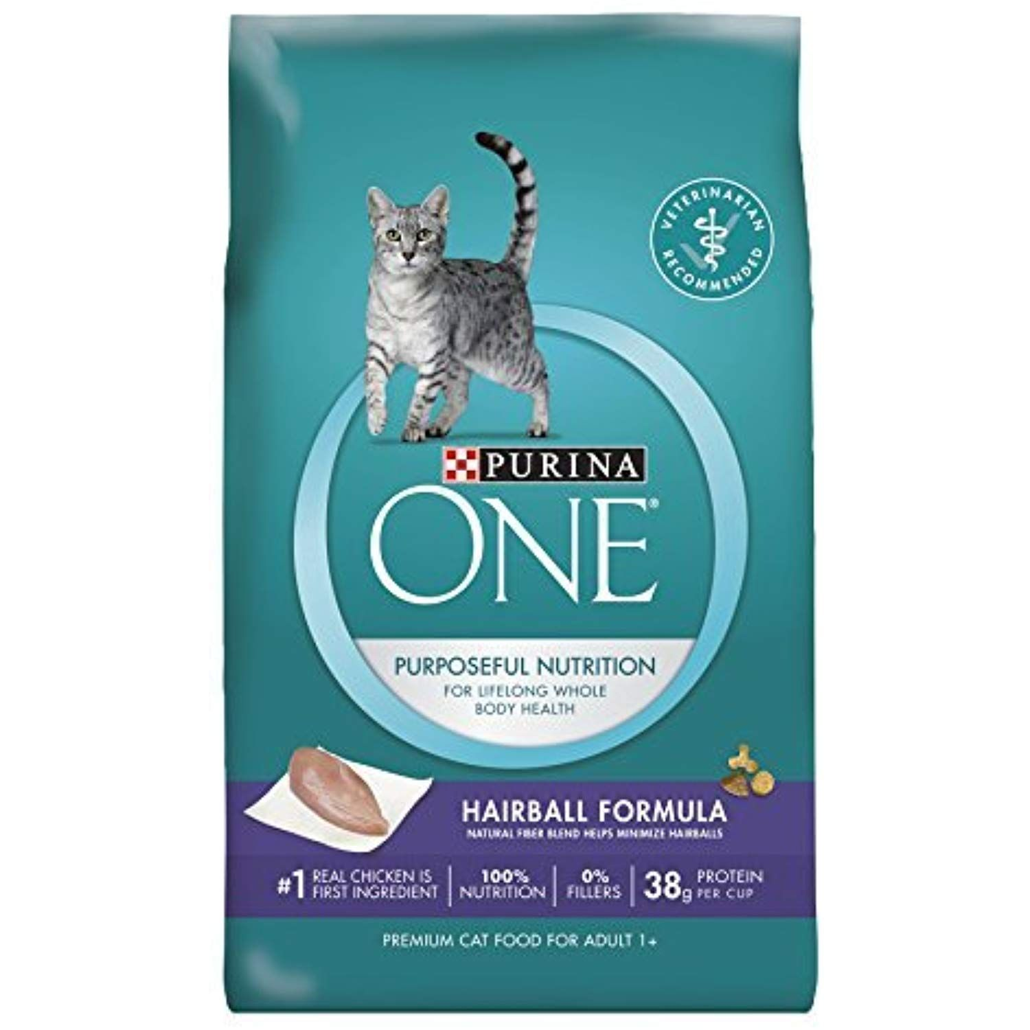 Purina One Dry Cat Food Hairball Formula 7 Pound Bag By Purina One Visit The Image Link More Details This Is An Affili Kitten Food Dry Cat Food Cat Food