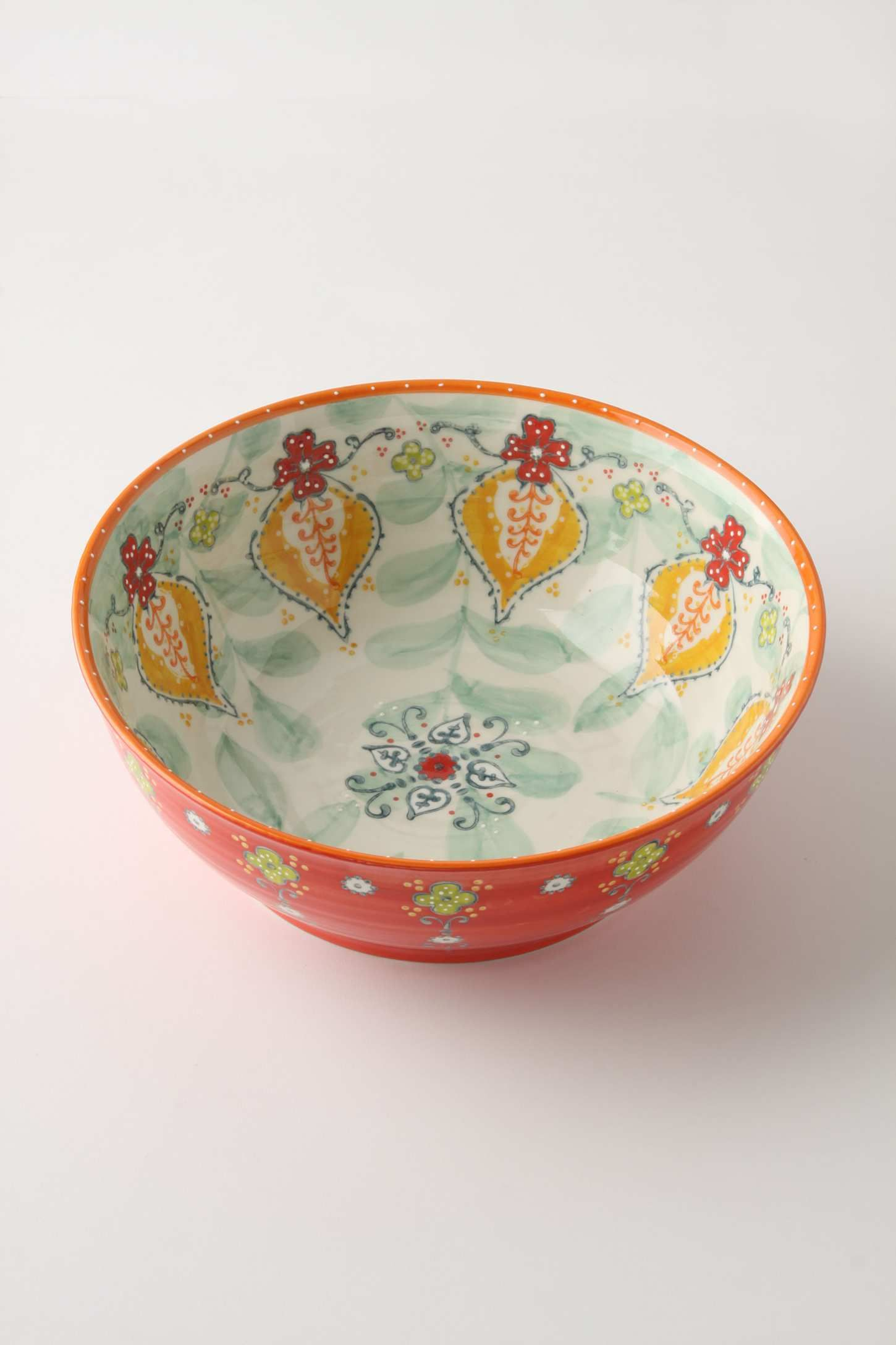 I can never have too many patterned bowls!