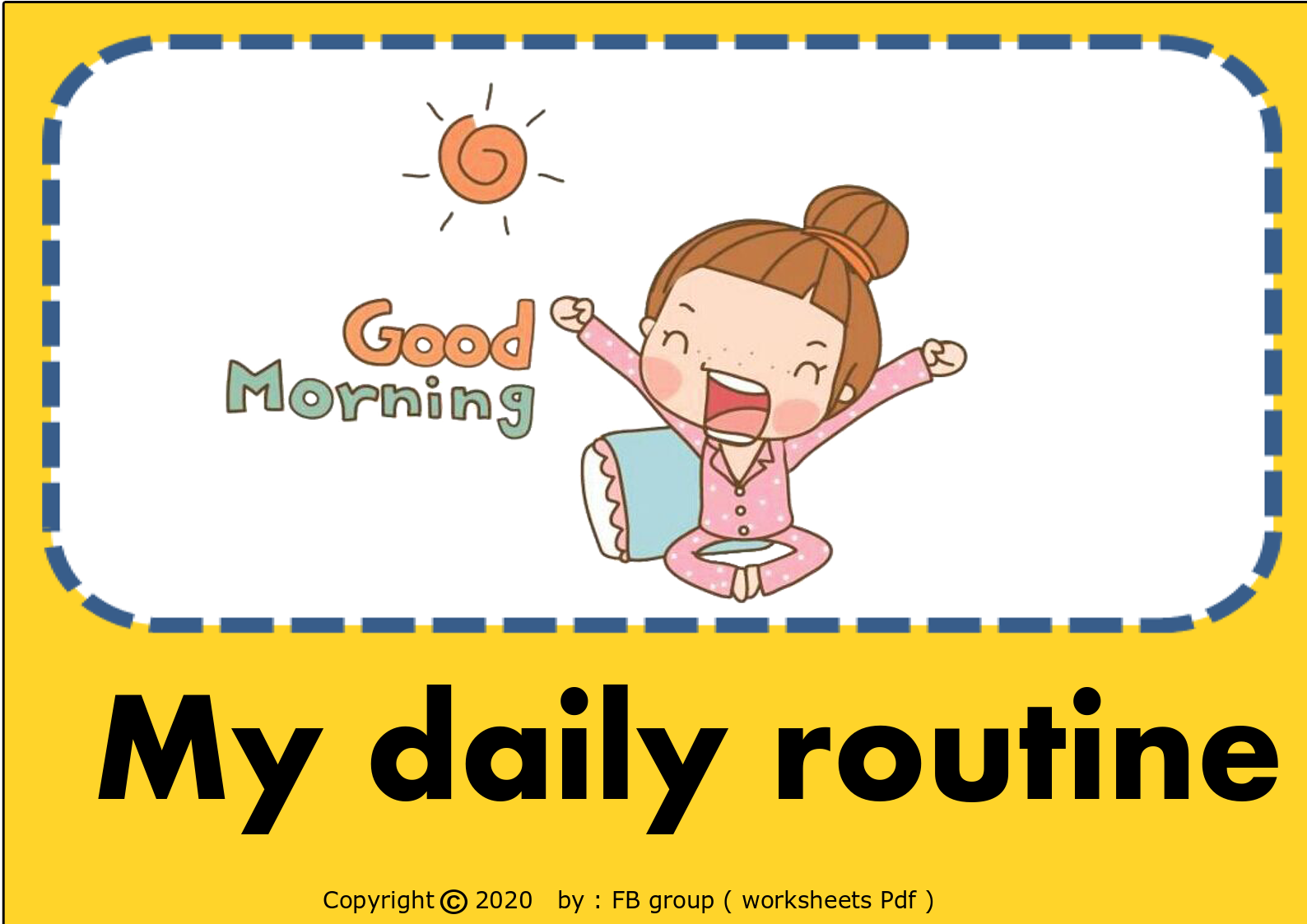Download Daily Routine Cards Free File Link In