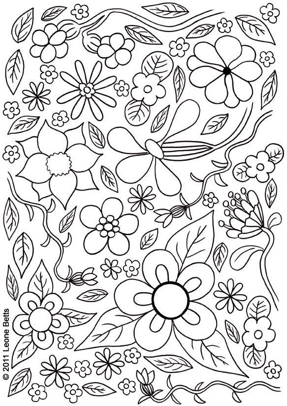 Summer Images For Colouring