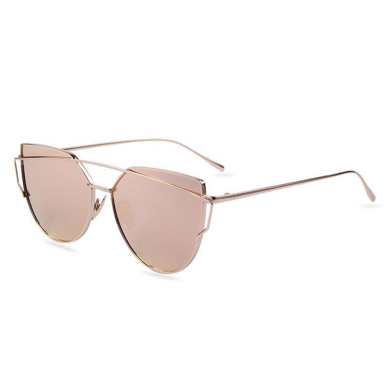 44b54579e8 ALDO Cat Eye Sunglasses in Rose Gold