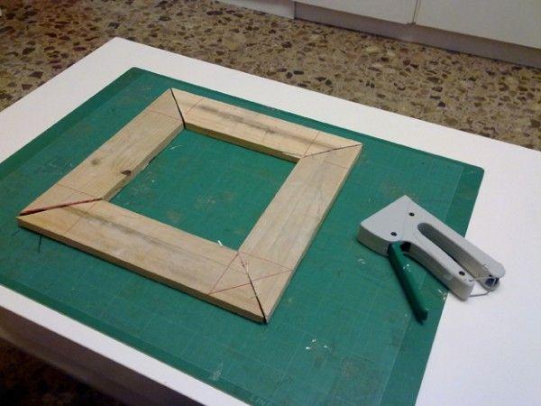 Madera para hacer marco de fotos | Ideas para el hogar | Pinterest ...