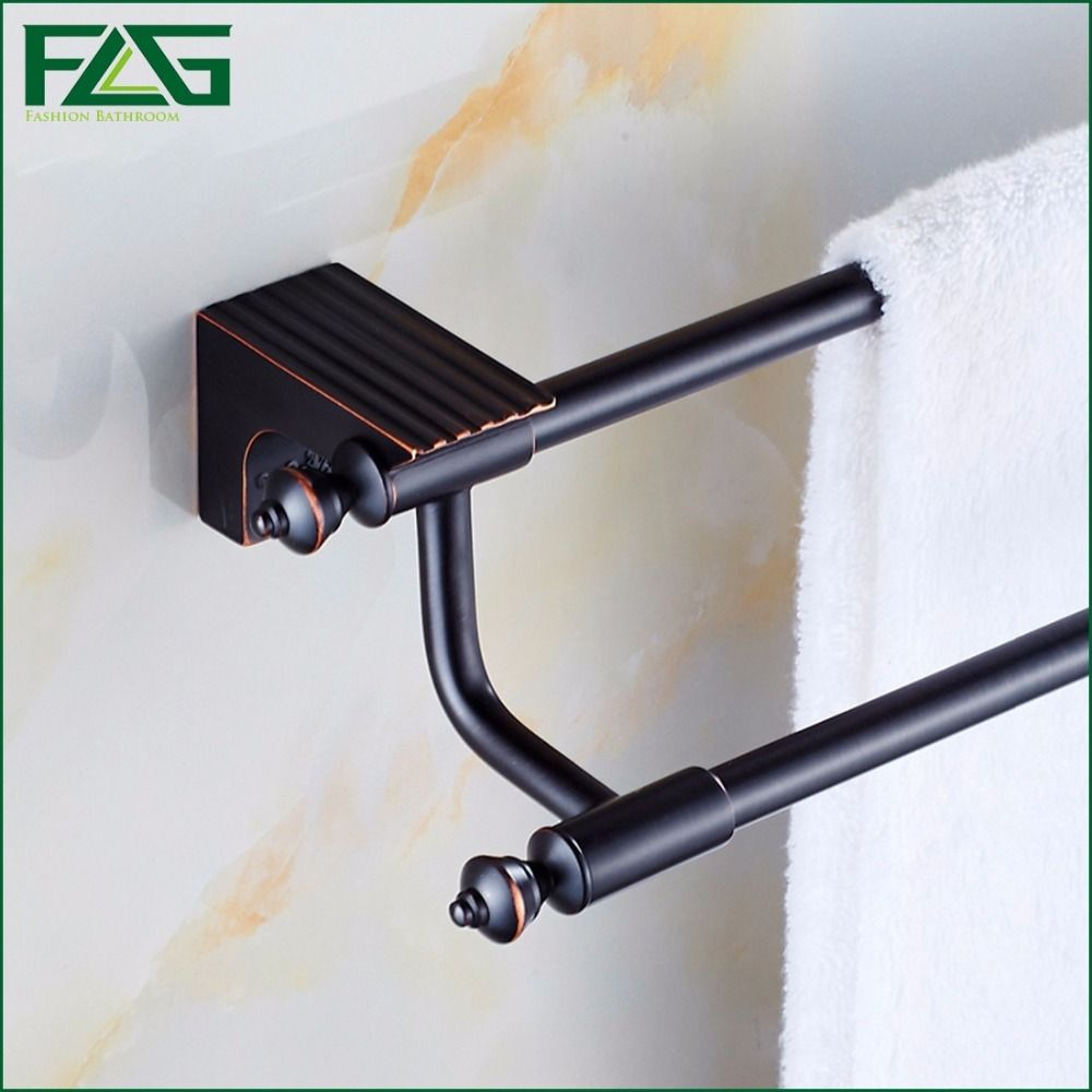 FLG High Quality Bathroom Accessories Oil Rubbed Bronze Bath Double ...