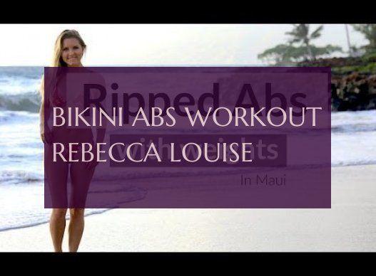 bikini abs workout rebecca louise #bikini #workout #rebecca #louise