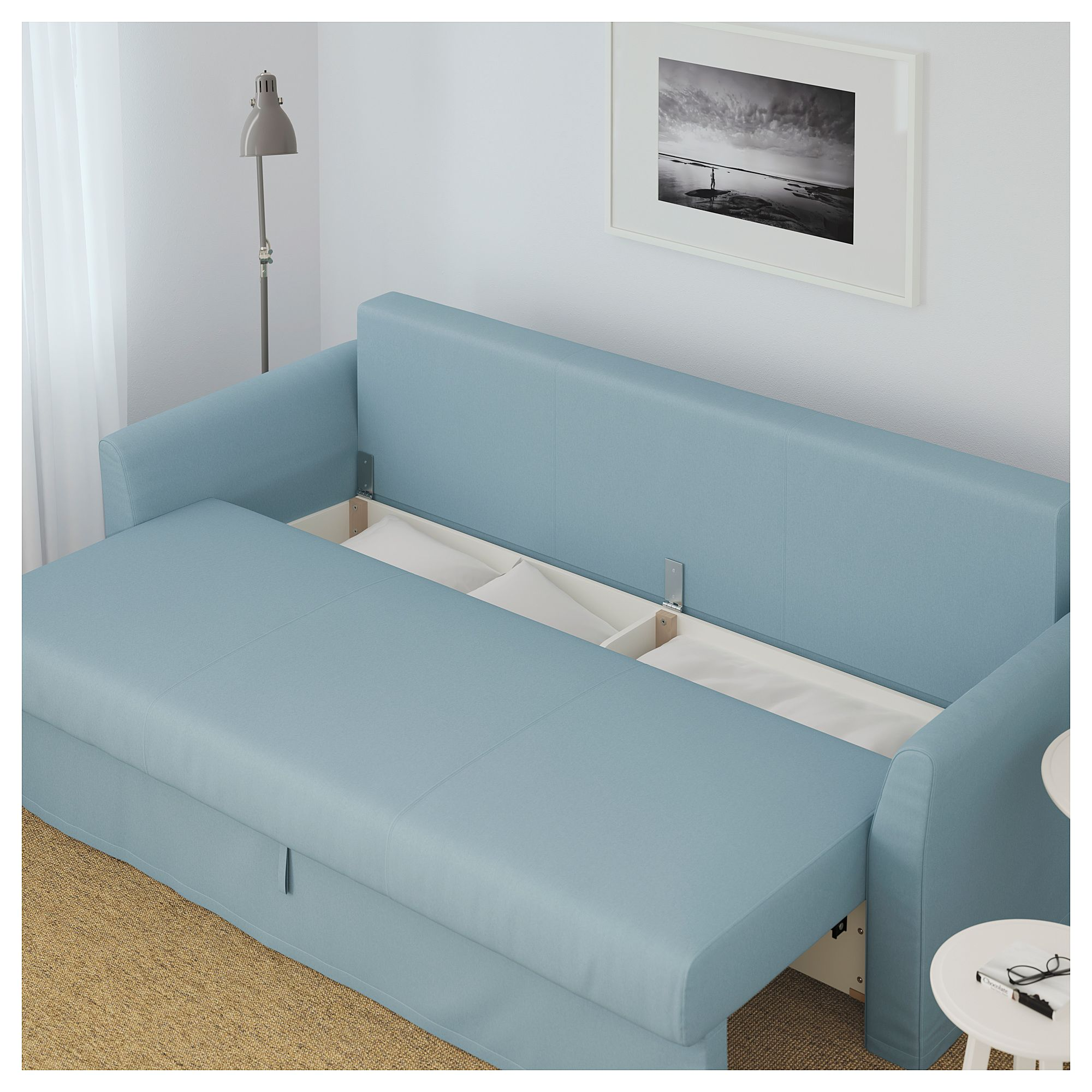 Bettsofas Kinder Ikea Holmsund Sofa Bed Orrsta Light Blue Campers Rv