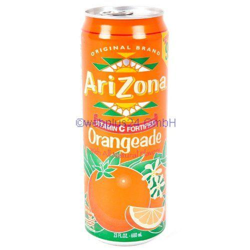 Arizona Orangeade 1x 680ml inkl. DPG-Pfand | food and drink ...