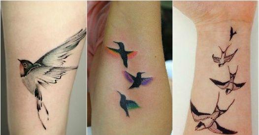 Wzory Tatuażu Z Ptakami Galeria 30 Najpiękniejszych Tatuaży