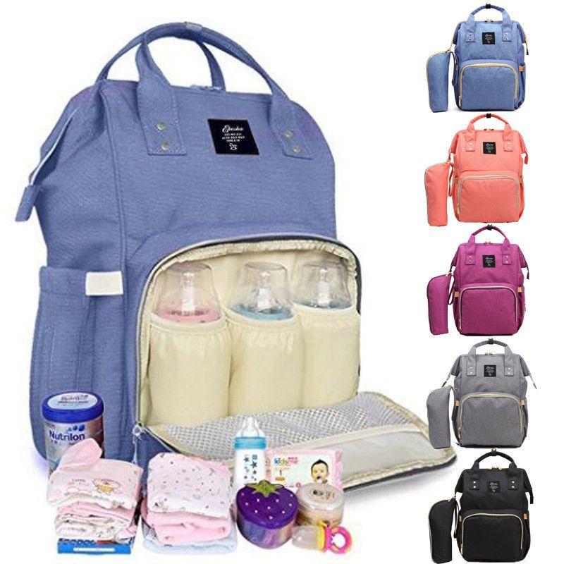 Multifunctional Storage Bags Baby Milk Bottle Bags Backpack