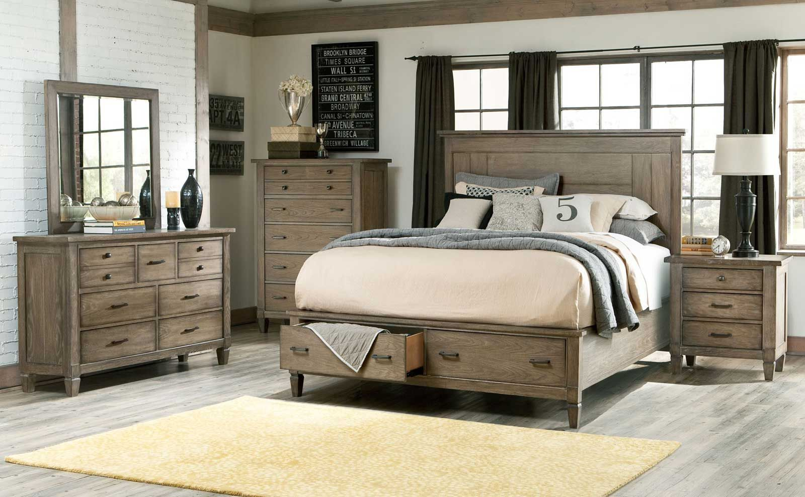 Image result for wood king size bedroom sets  Farm house master