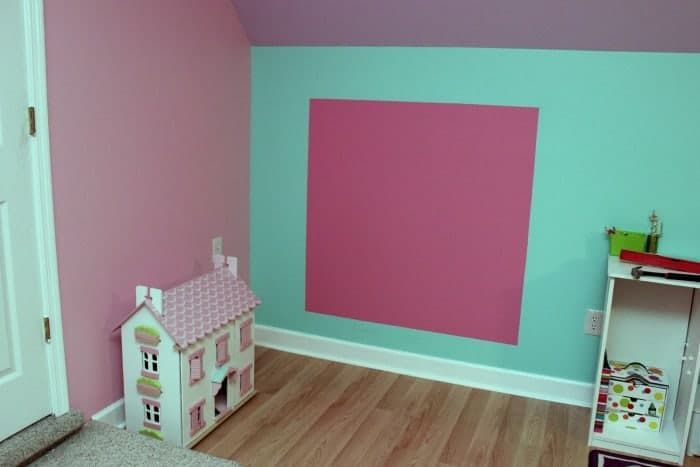 The Little Mermaid Bedroom Makeover