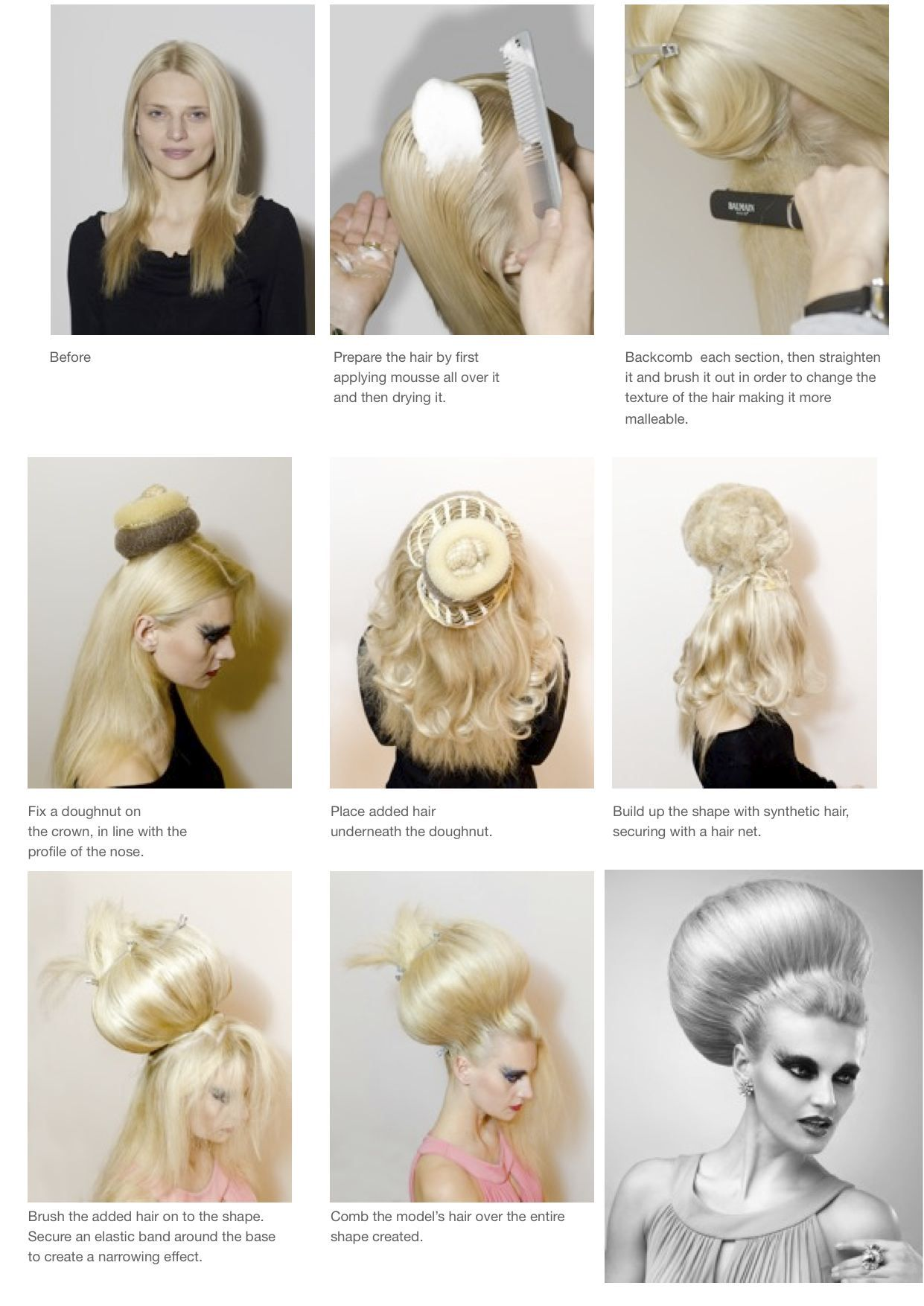 The Ball Hair By Anne Veck Hairs Pinterest Hair Hair Styles