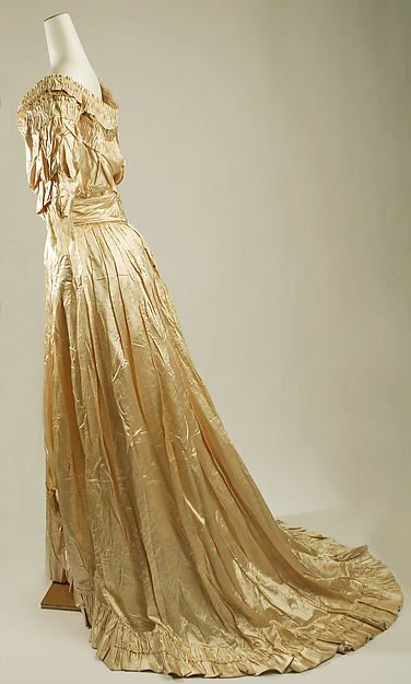 House of Drécoll, ball gown ca. 1905