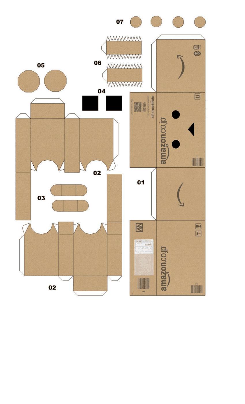 Cara Membuat Boneka Danbo : membuat, boneka, danbo, Danbo.pdf, Google, Drive, Kotak, Kertas,, Kardus,, Boneka, Kertas