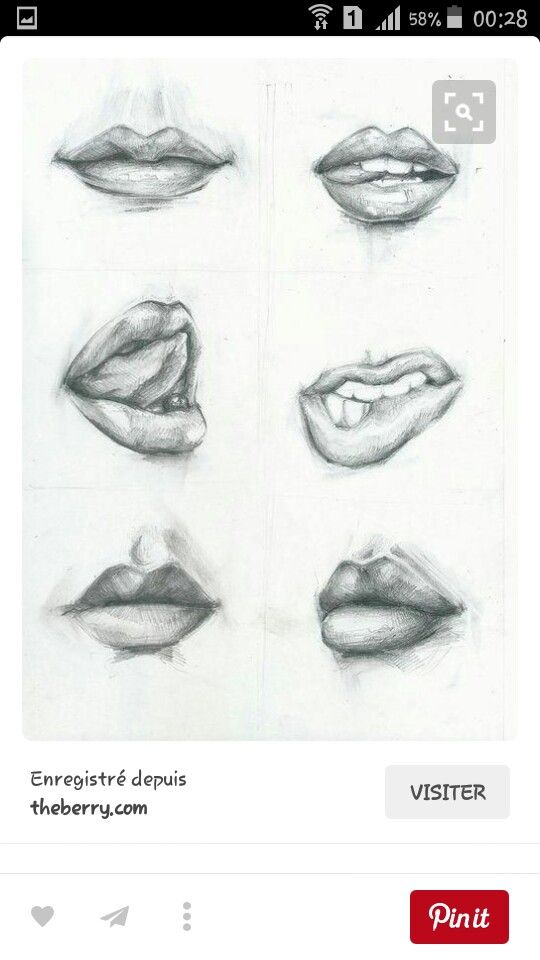 Lips tumblr Sexy drawing