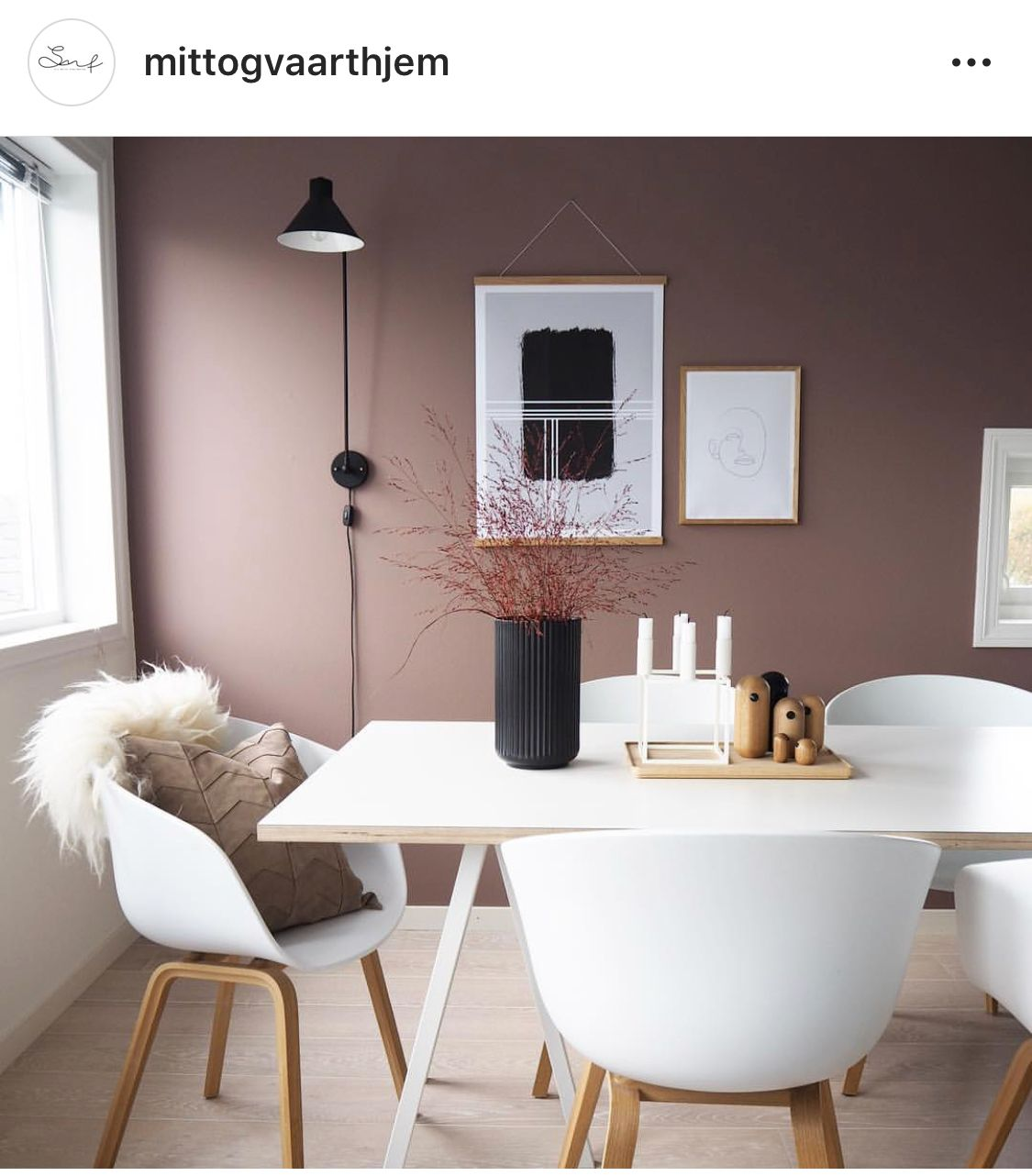 Jotun dusty rose | House interior, Interior, Modern home ...