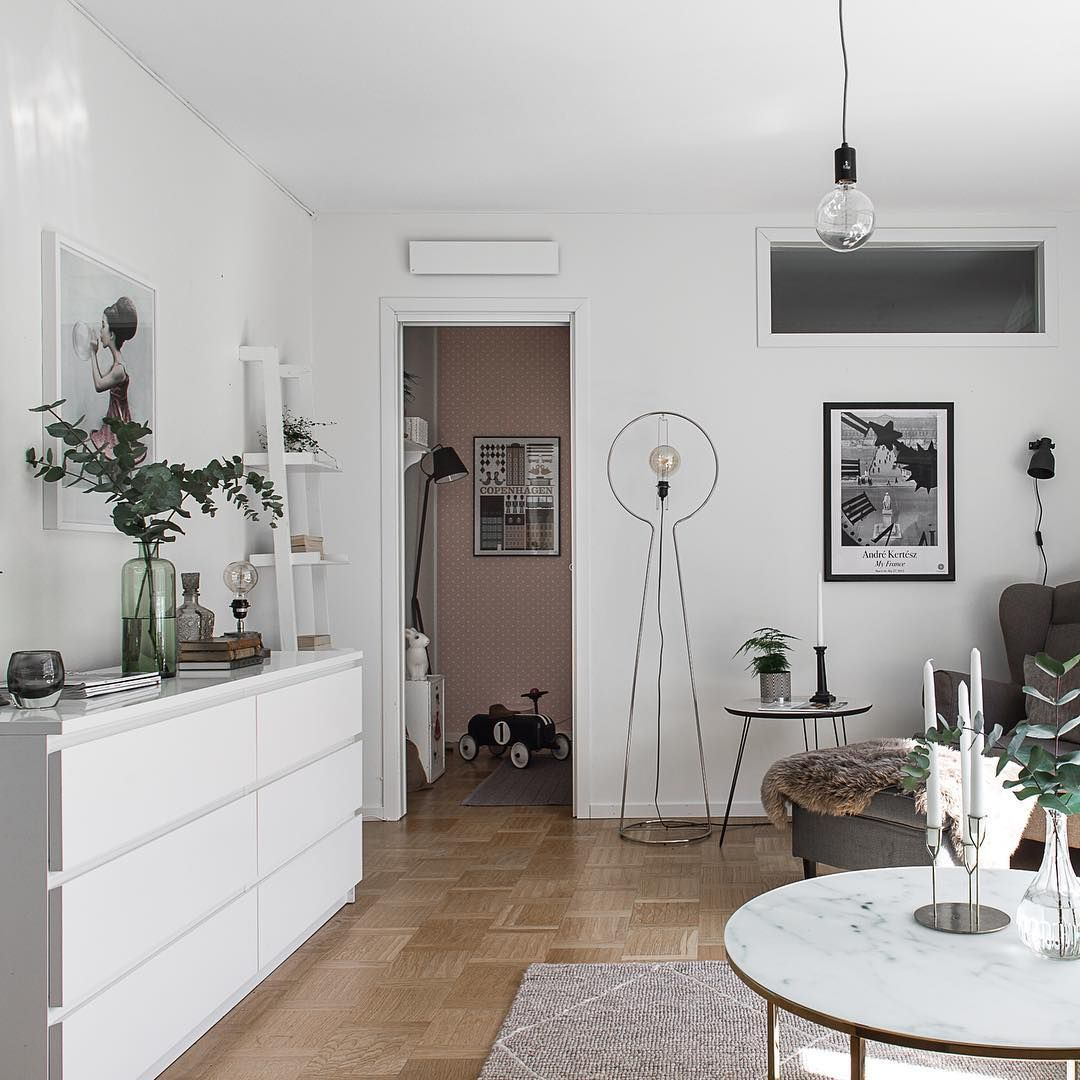 Delightful Ikea U0027Malmu0027 Dressers In Living Room For A Lot Of Storage Space @lundin.se