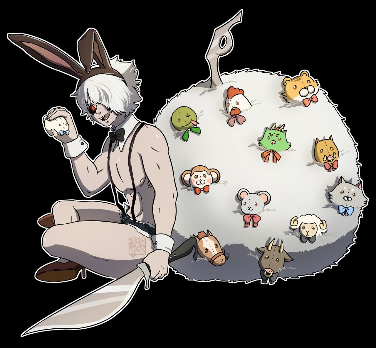 juuni taisen bunny