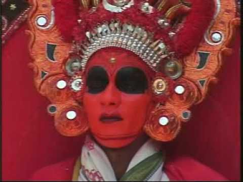 Theyyam is a popular ritual form of worship of North Malabar in Kerala, India, predominant in the Kolathunadu area and also in Kodagu and Tulu nadu of Karnataka as a living cult with several thousand-year-old traditions, rituals and customs.