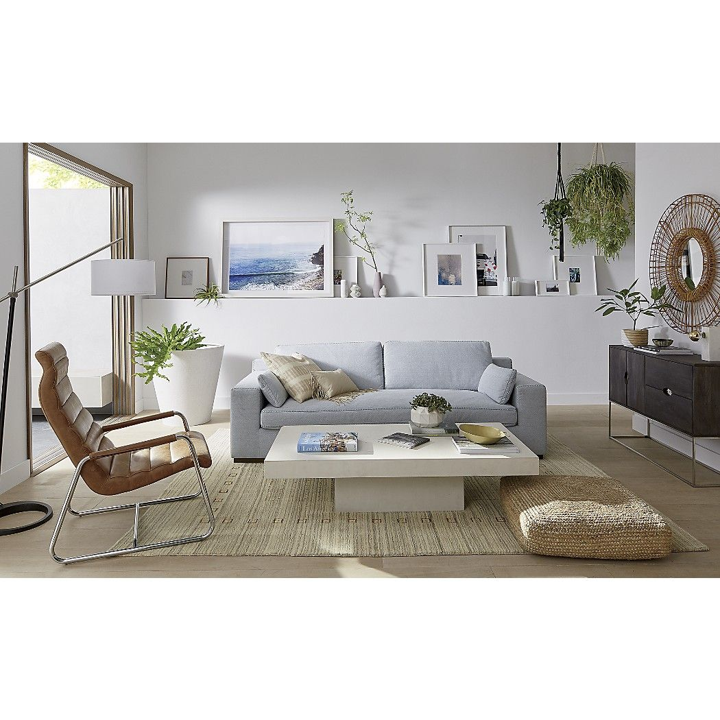 Shop element ivory white rectangular coffee table. A larger ...