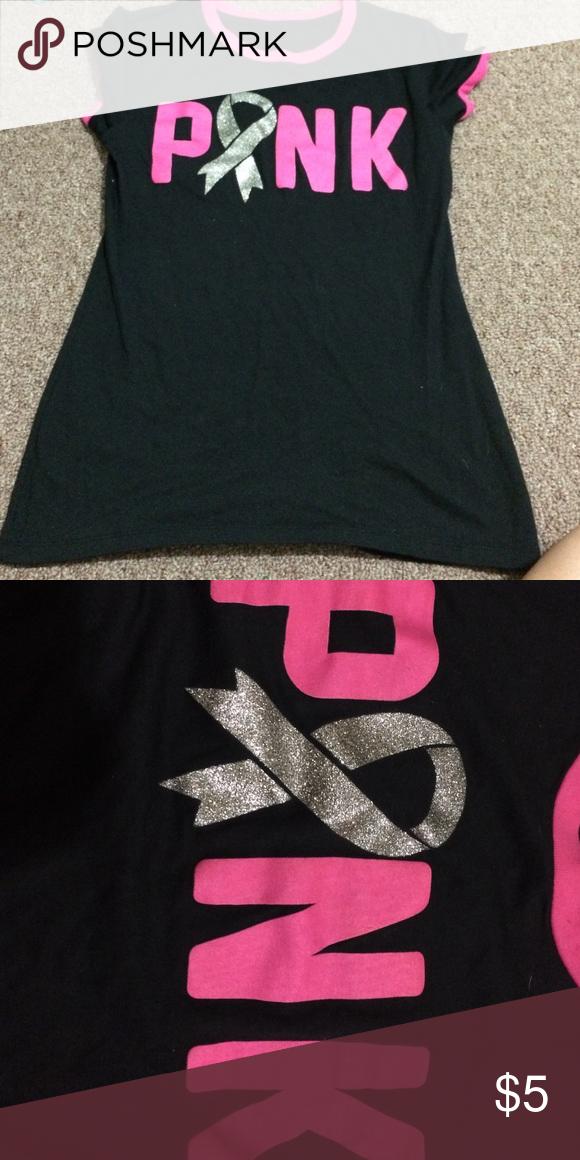 Breast Cancer awareness t-shirt Cute breast cancer t-shirt, never been worn Tops Tees - Short Sleeve